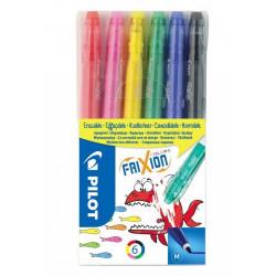 Pilot Frixion Colours gumovateľné fixky