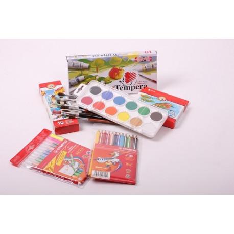 Odporúčaný balíček výtvarných potrieb do školy