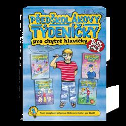 Predškolákove týždenníčky pre šikovné hlavičky v češtine – priamo od autorov